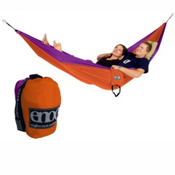 ENO Double Nest Hammock, Orange-Violet, medium