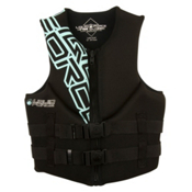 Liquid Force Hinge Classic Womens Life Jacket 2013, Black, medium