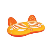 SportsStuff Pool and Beach 2UP Lounge Inflatable Raft, , medium