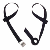 Seals Kayak Ceiling Boat Hanger Strap Set, Black, medium