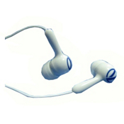 VestPac Waterproof Headphones, White-Blue, medium