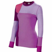 Neve Designs Color Block Crew Neck Womens Sweater, Gem, medium