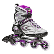 Roller Derby Aerio Q 80 Womens Inline Skates 2017, Purple-Black-White, medium