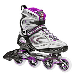 Roller Derby Aerio Q 80 Womens Inline Skates 2017, Purple-Black-White, 256