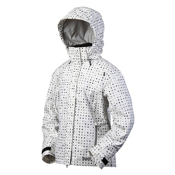 Marker Crown Point Womens Insulated Ski Jacket, White, medium