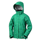 Marker Crown Point Womens Insulated Ski Jacket, Green, medium