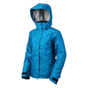 Marker Crown Point Womens Insulated Ski Jacket, Hydro Blue, medium