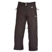 Marker Pop Cargo Kids Ski Pants, Black, medium