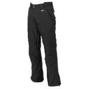 Marker Pop Cargo Shell Mens Ski Pants, Black, medium