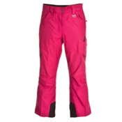 Marker Pop Regular Rise Girls Ski Pants, Cerise, medium