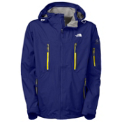 The North Face Kannon Mens Shell Ski Jacket, Bolt Blue, medium