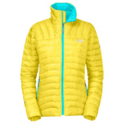 The North Face Thunder Micro Womens Jacket, Energy Yellow, medium