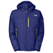 The North Face Glitchin Down Mens Insulated Ski Jacket, Bolt Blue, medium