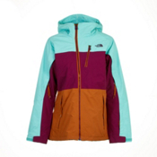 The North Face Kizamm Womens Insulated Ski Jacket, Brook Blue, medium