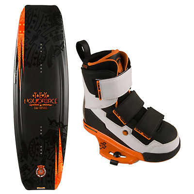 Liquid Force Tex Wakeboard With Vantage CT Bindings, , large