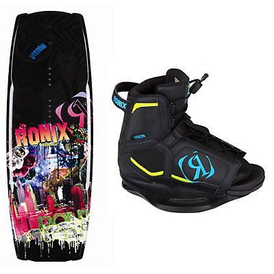 Ronix Vision Kids Wakeboard With Vision Bindings, , large
