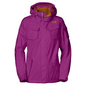 The North Face Decagon Womens Insulated Ski Jacket, Premiere Purple, medium