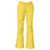 The North Face Shawty Womens Ski Pants, Stinger Yellow, medium