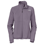 The North Face Ruby Raschel Womens Soft Shell Jacket, Greystone Blue, medium