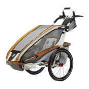 Chariot Carriers CX1 Stroller, Copper-Grey-Silver, medium