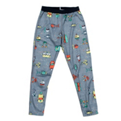 Hot Chillys Peach Skins Print Kids Long Underwear Bottom, , medium