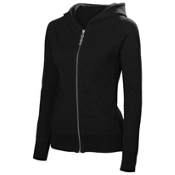 Neve Designs Georgie Full Zip Womens Hoodie, Black, medium
