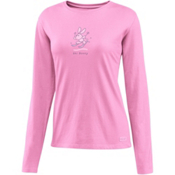 Life Is Good Crusher Ski Bunny Womens Shirt, , medium