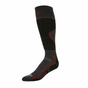 Point6 Light Ski Socks, Gray-Black, medium