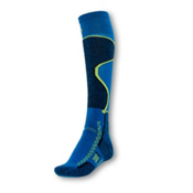 Point6 Medium Ski Socks, Blue, medium