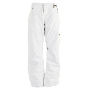 Oakley Eaves 2.0 Womens Snowboard Pants, White, medium