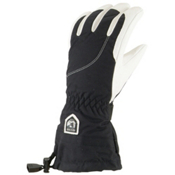 Hestra Heli Womens Gloves, Black-Off White, medium