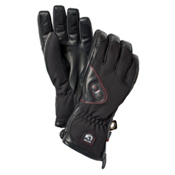 Hestra Power Heater Heated Ski Gloves, Black, medium