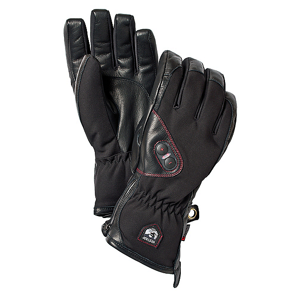 Hestra Power Heater Heated Gloves and Mittens, Black, 600