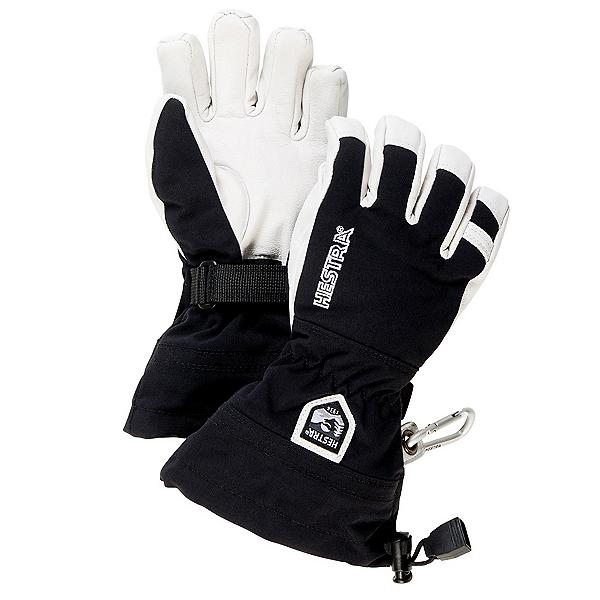 Hestra Heli Ski Jr Kids Gloves, Black, 600