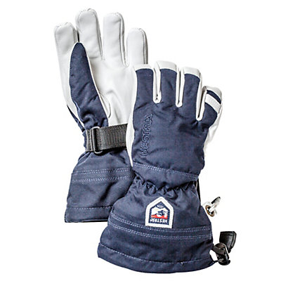 Hestra Heli Ski Jr Kids Gloves, Black, viewer