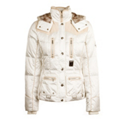 Bogner Sarina-D Womens Insulated Ski Jacket, Off White, medium