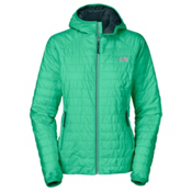 The North Face Blaze Hooded Womens Jacket, Lizzie Green, medium