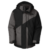 The North Face Brightten Triclimate Boys Ski Jacket, TNF Black-Graphite Grey, medium