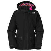 The North Face Cameele Insulated Girls Ski Jacket, TNF Black, medium