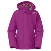 The North Face Cameele Insulated Girls Ski Jacket, Premiere Purple, medium
