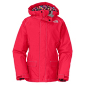 The North Face Cameele Insulated Girls Ski Jacket, Teaberry Pink, medium