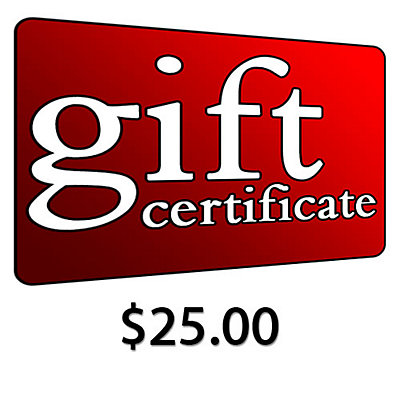 $25 Gift Certificate, , large