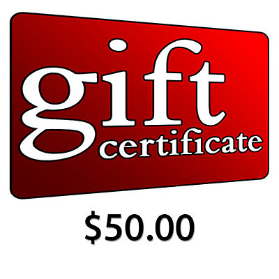 $50 Gift Certificate, , large