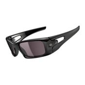 Oakley Crankcase Sunglasses, Polished Black, medium