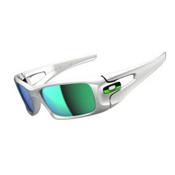 Oakley Crankcase Sunglasses, Polished White, medium