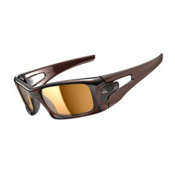 Oakley Crankcase Polarized Sunglasses, Polished Rootbeer, medium