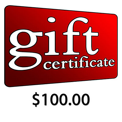 $100 Gift Certificate, , large