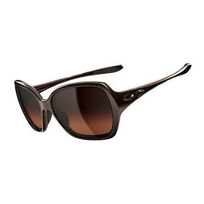 Oakley Overtime Womens Sunglasses, Brown, viewer