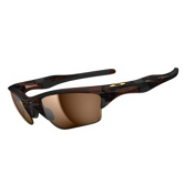 Oakley Half Jacket 2.0 XL Polarized Sunglasses, Polished Rootbeer, medium