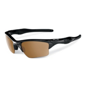 Oakley Half Jacket 2.0 XL Polarized Sunglasses, Polished Black, medium